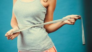 lose weight measuring tape
